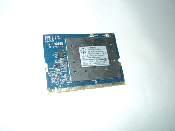 Placa Mini Pci Wireless Notebook Toshiba A105 Pa3458u-1mpc