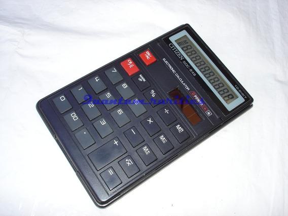 Calculadora Sdc-848 Citizen 10 Dig Usada Funcionando