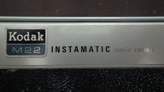 Filmadora Kodak M22 Instamatic Movie Camera