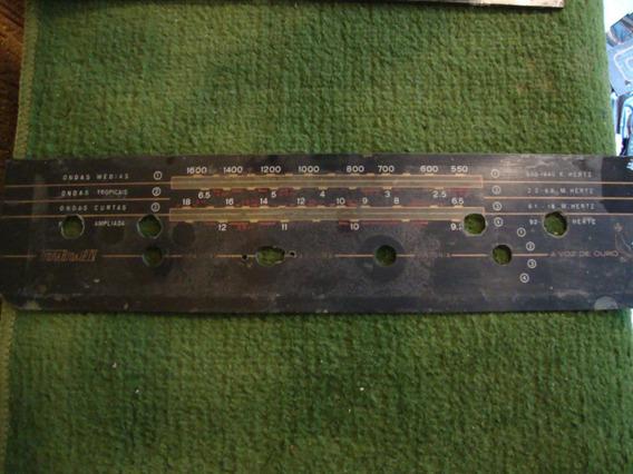 Dial De Rádio Antigo - Transbrasil Iv - A Voz De Ouro