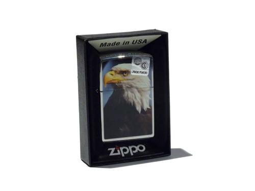 Imagen 1 de 2 de Encendedor Zippo Eagle Made In Usa 28924
