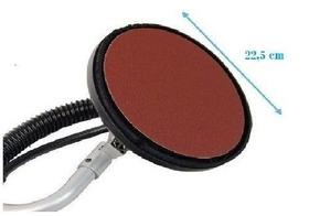 Disco De Lixa 3m Gr 180 / 9 Pol. 225mm C/ Velcro 10 Pçs