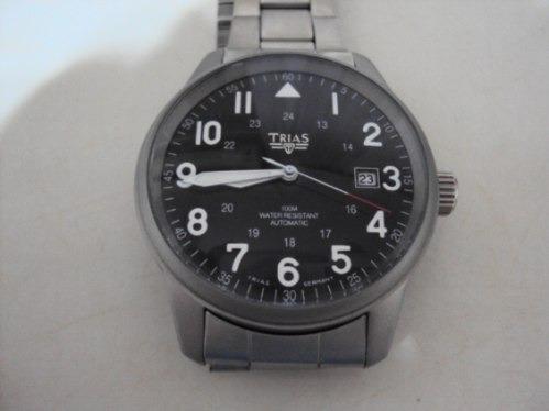 Relógio Alemão Automático Trias