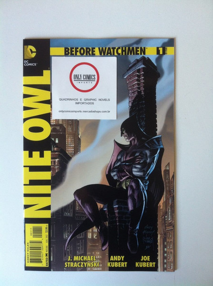 Before Watchmen Nite Owl Arco Completo #1 A 4 (2012) Dc