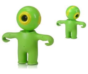 Web Cam Powerpack Vxp-18 16m Com Microfone Verde/amarelo