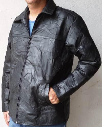 Jaqueta Couro Legítimo Tamanhos Grandes Masculino Plus Size