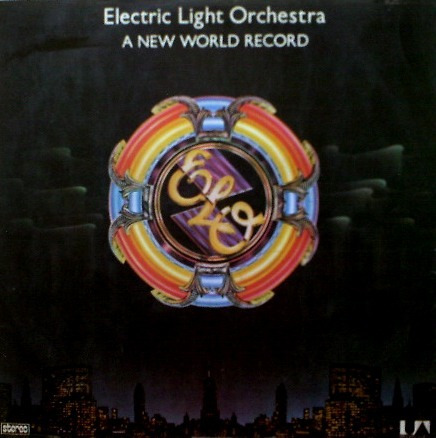 Lp Electric Light Orchestra-a New World Record-1977