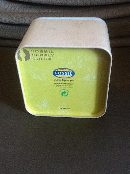 Colar Em Couro Fossil 50 Cm (com Alargador)