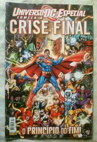 Começa A Crise Final - Ed Especial - Ed Panini - Heroishq.