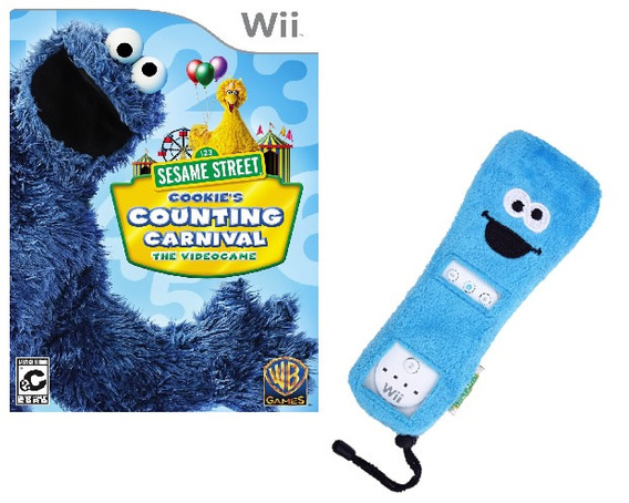 Wii Sesame Street Cookies Counting Carnival - Novo