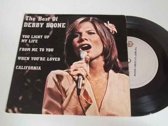 Vinil Compacto Ep - Debby Boone - You Light Up My Life - Pop