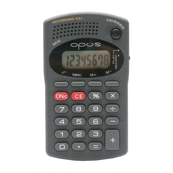 Calculadora Com Gravador Opus B607