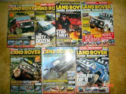 Revista Land Rover Jeep Jipe 4x4 Trilha Rallye Enduro Trophy