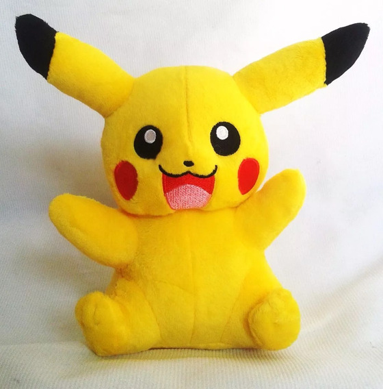 Pikachu Pelucia Pokemon Go Pronta Entrega