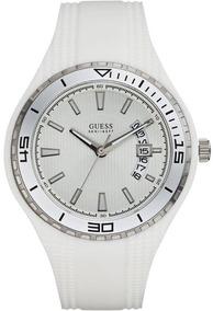 Relógio Guess Mod. W95143g3 Branco Coleçao 2018 Original