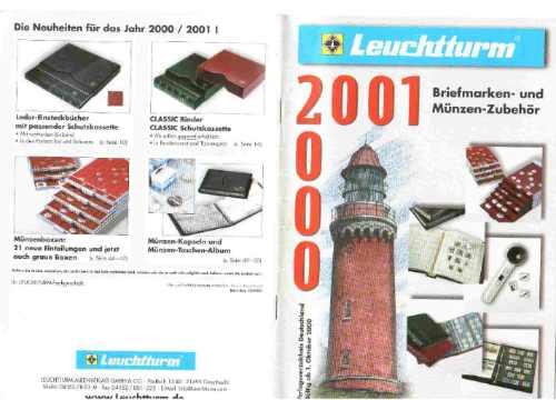 Catalogo Alemão Leuchttunrm Material Numismática / Filaelia