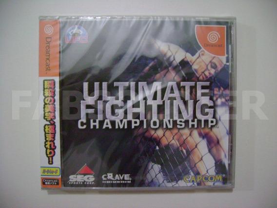 Ultimate Fighting Championship Original Novo Lacrado!