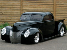 Ford 1940 - Hot Rod - N Mustang - Corvette - F100 - M Rocha