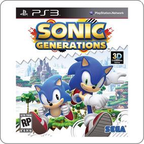 Sonic Generations Original Ps3 Digital Psn