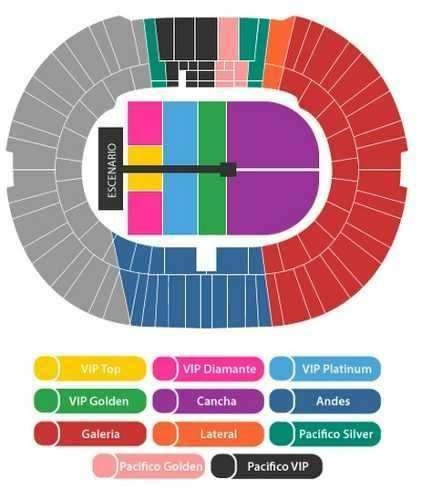 Entradas Vip Platinum Para One Direction / 1 De Mayo