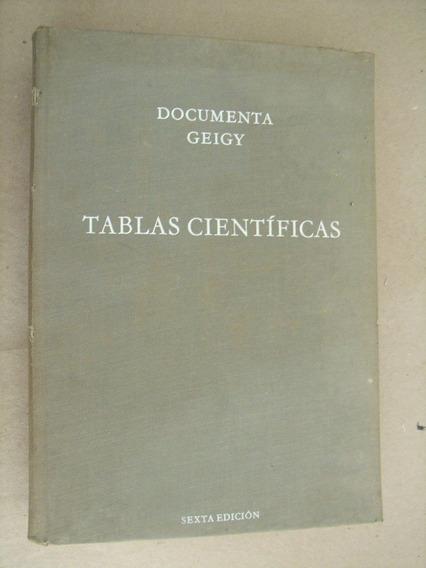 Documenta Geigy Tablas Científicas Em Espanhol - Emporio