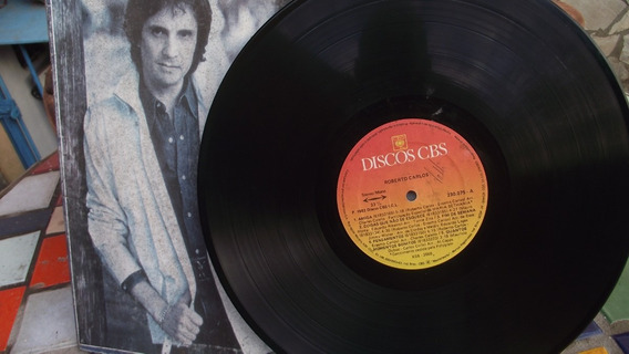Lp -vinil Raridade Original Roberto Carlos