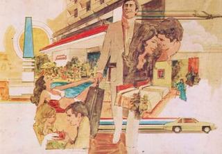 Cartão Postal Importado Hotel Howard Johnson