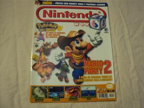 Revista Nintendo World Número 18 Capa Mario Party 2