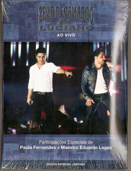 Dvd Zezé Di Camargo & Luciano - Ao Vivo - Novo***