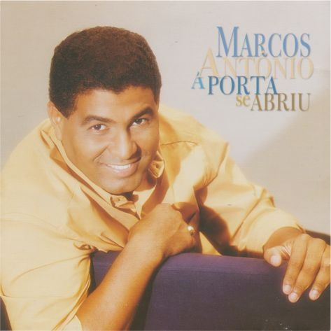 Marcos Antônio - Jesus Abriu A Porta Cd Playbacks