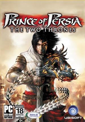 Pc Prince Of Persia The Two Thrones - Usado - Original.