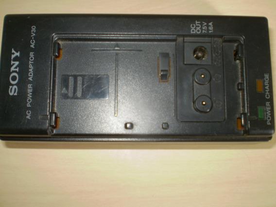 Carregador De Bateria Da Filmadora Sony Modelo Ac-v30