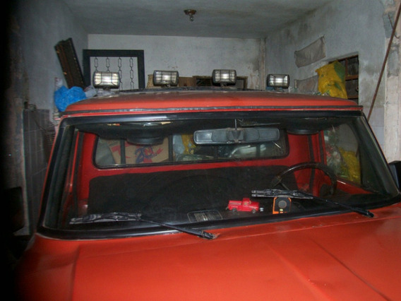 Caminhonete Ford F 100 Gazolina Motor De Opala 6 Cilindros
