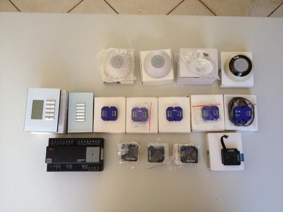 Baixou -kit Automação Sbus + Keypad + Dry-contact + Sensores