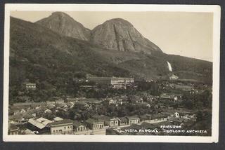 Cartão Postal Antigo 1941 Friburgo Vista, Colegio Anchieta