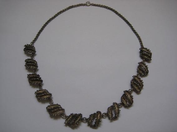Lindo Colar Em Prata 900