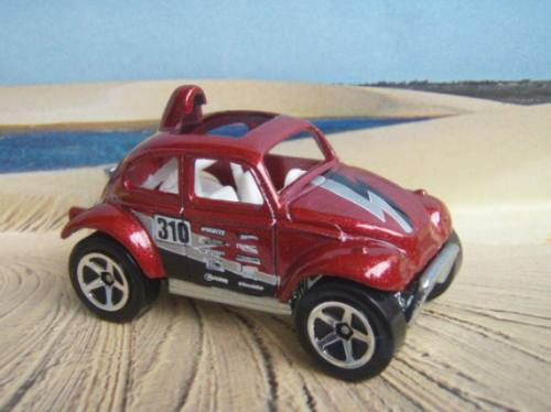 R$18 No Lote Hot Wheels 2008 Vw Baja Bug Fusca Gariba58