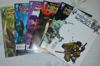 Hq´s Ninja Scroll - Comics - Revista Em Quadrinhos Vol.1 A 6