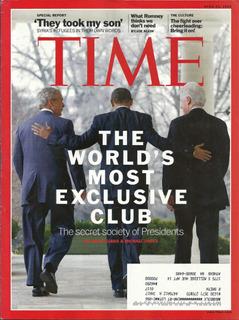 Revista Time: George Bush, Barack Obama & Bill Clinton