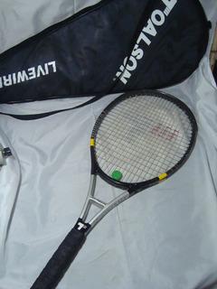 Raquete Tenis Toalson Titanium - Perfeito Estado