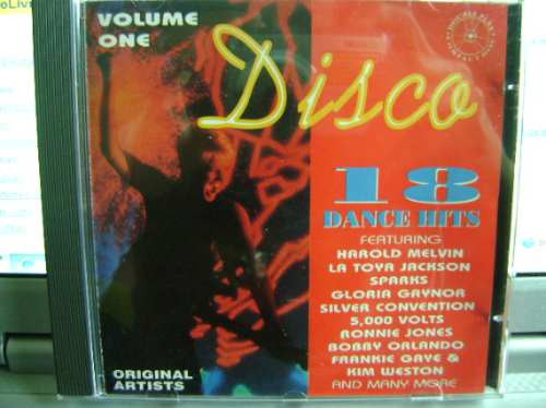 Cd Original Importado Disco 18 Dance Hits 1993