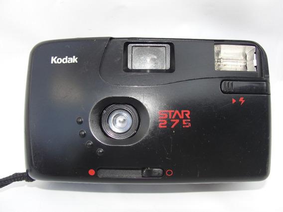 Cãmera Fotográfica Kodak Modelo Star 275 Para Colecionar