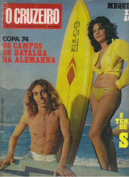 Revista O Cruzeiro Nº 35-29/agosto/1973-rio De Janeiro