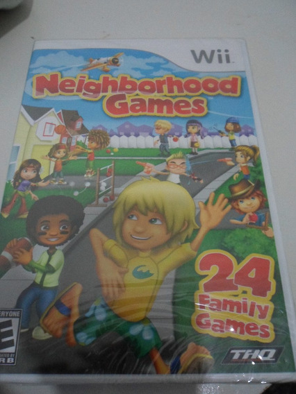 Neighbordhood Games Wii : 24 Games Em 1 Novo Lacrado