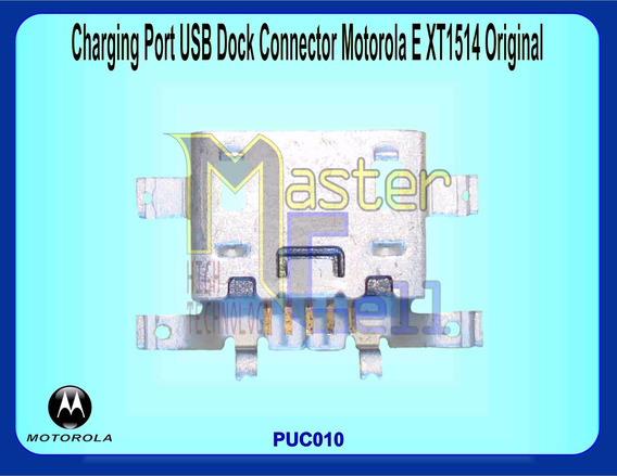 Porta De Carga Usb Dock Connector Moto E Xt-1514 Orig.