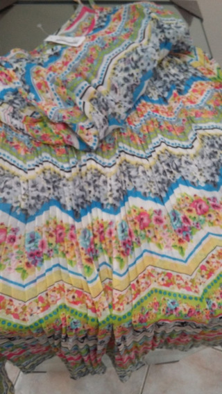 Vestido Super Fresco Tipo Seda Breteles Regul.