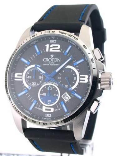 Relógio Croton - Azul - Novo Na Caixa