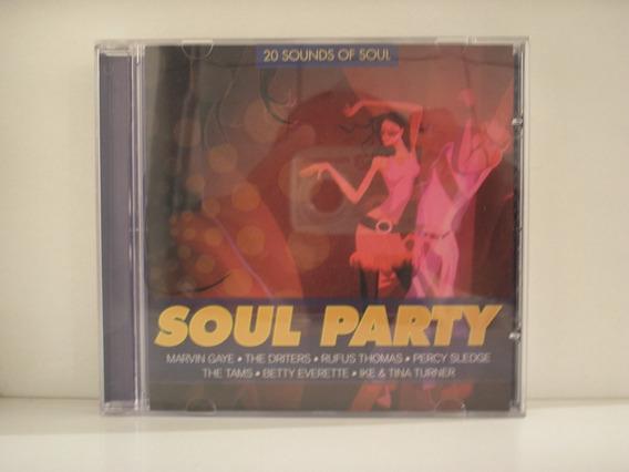 Cd 20 Sounds Of Soul Soul Party - Vários