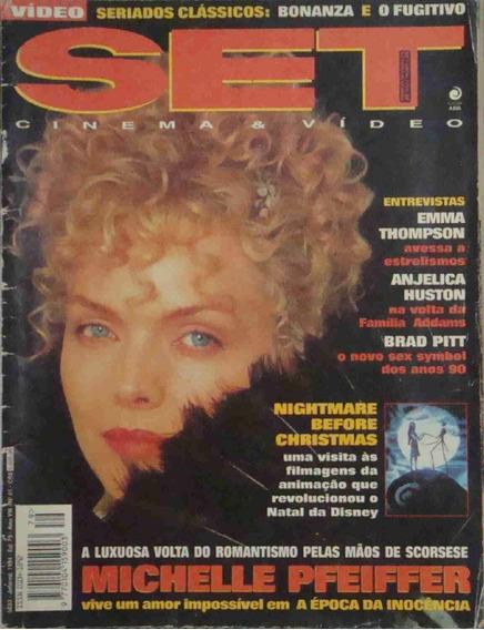 Revista Set Ano 8 No. 01 Michelle Pfeiffer Janeiro De 1994
