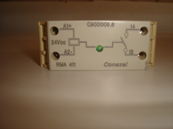 Rele Conexel Rma 411 C900005.6 - 24vcc